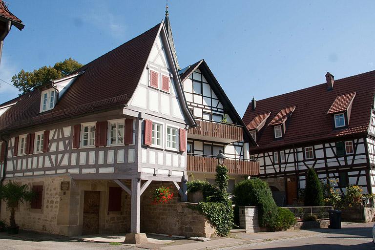 Quizfrage zur Stadt Kornwestheim Alte Schmiede